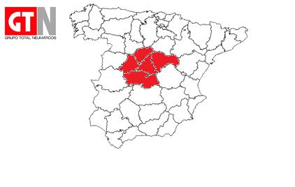 mapa doble reparto diario